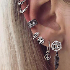 Unique Chic Stylish Alloy Women's Ladies' Girl's Earrings 7 PCS