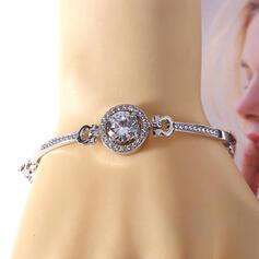Attractive Charming Elegant Artistic Delicate Alloy With Rhinestones Women's Ladies' Bracelets