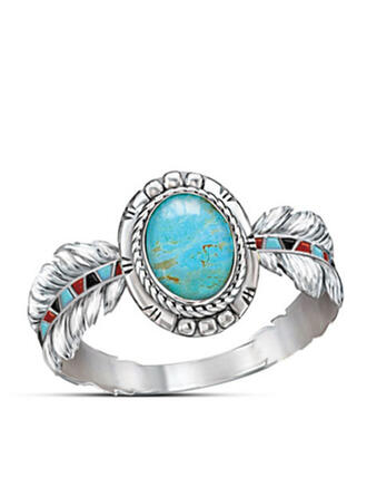 Fashionable Vintage Simple Alloy Women's Ladies' Girl's Rings